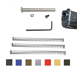 CDS Stainless Steel Guide Rod Competition Kit For Gen 1-3 Glock 17