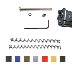 CDS Stainless Steel Guide Rod Carry Kit For Gen 1-3 Glock 19