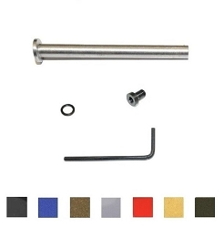 CDS MOD4 Stainless Steel Guide Rod Assembly w/o Spring For Smith & Wesson M&P 5 Inch Barrel