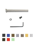 CDS MOD3 Stainless Steel Guide Rod Assembly w/o Spring For Gen 1-3 Glock 17